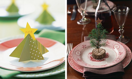 Creative Christmas table decorating picture 15