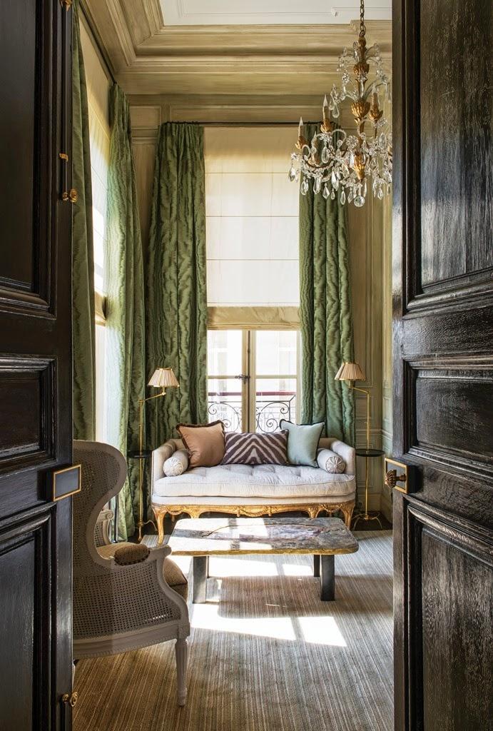 The peak of chic jean louis deniot interiors for The peak of chic
