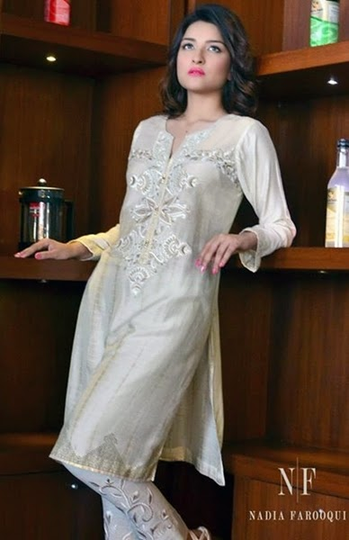 Nadia Farooqui Eid Dresses Designs