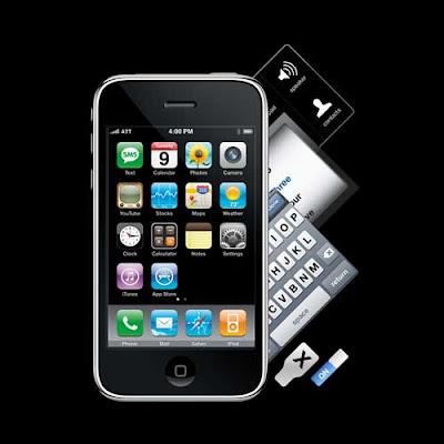 smartphone en formato PSD