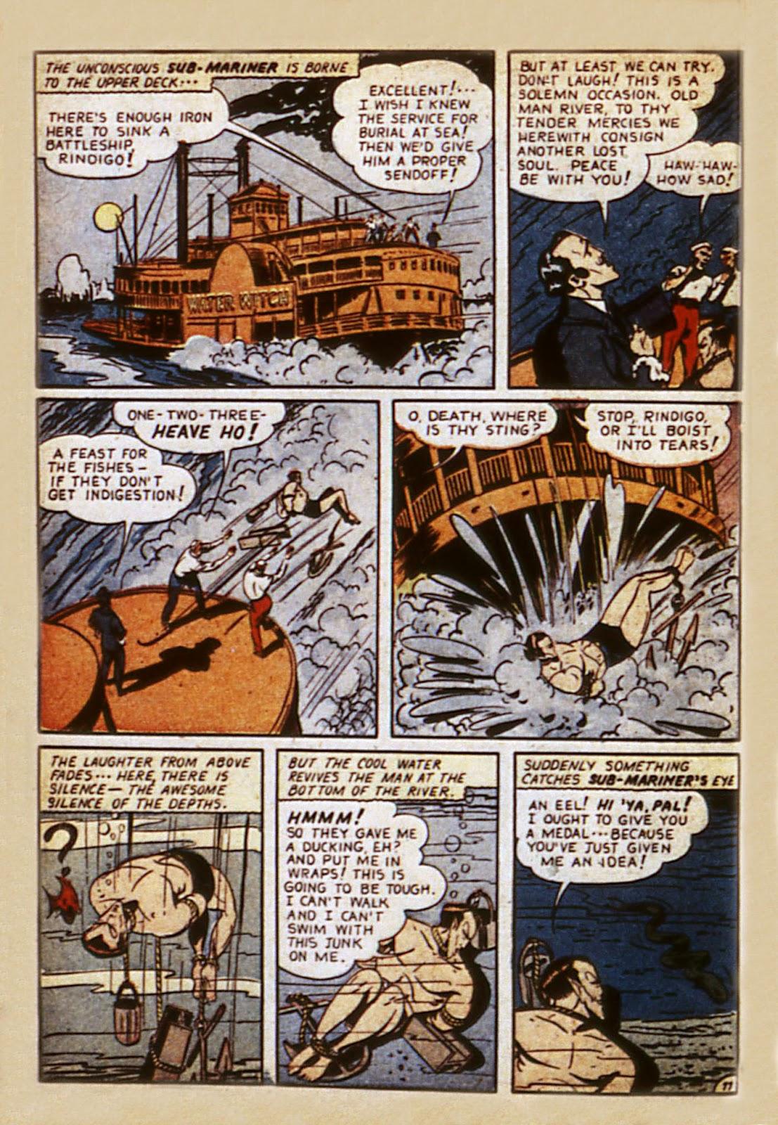 Sub-Mariner Comics Issue #7 #7 - English 56
