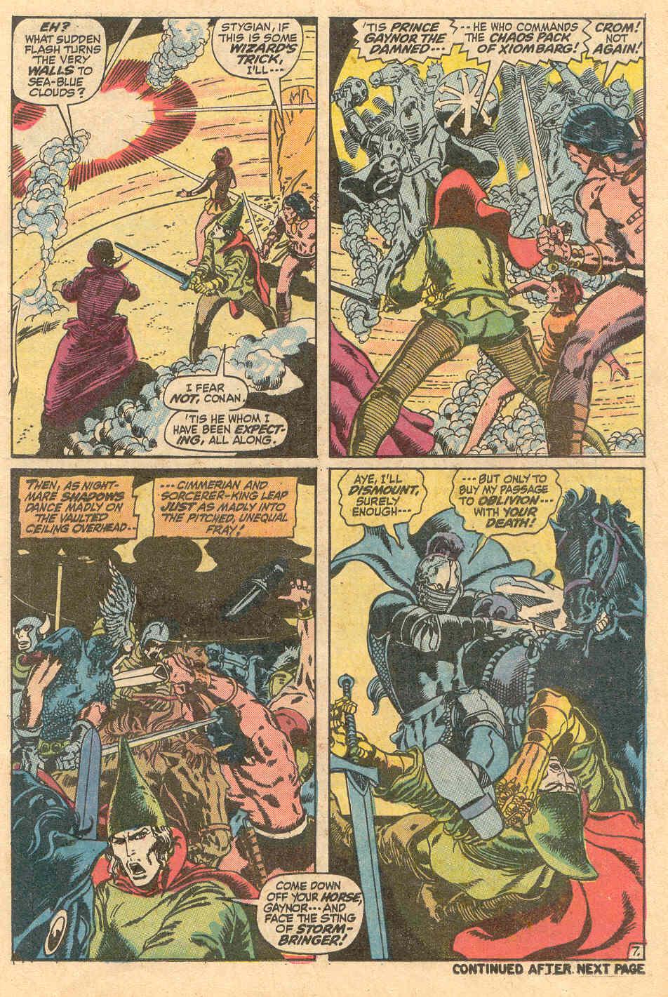 Conan the Barbarian (1970) Issue #15 #27 - English 8