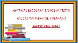 LISTADOS DE LIBROS Y MATERIAL ESCOLAR