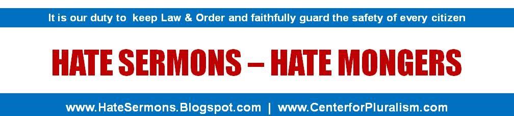 Hate Sermons