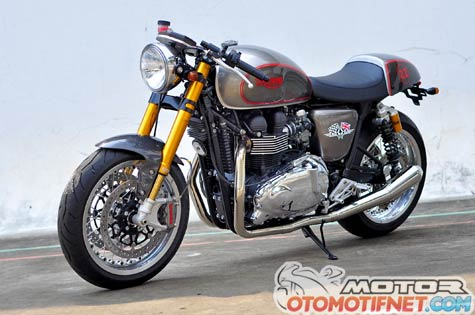 Modifikasi Triumph Bonneville