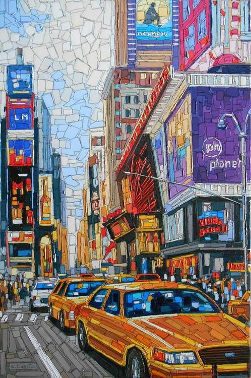 Cuadros pinturas oleos cuadros paisajes urbanos modernos - Cuadros clasicos modernos ...
