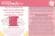 National Scrapbooking Day May 7, 2011