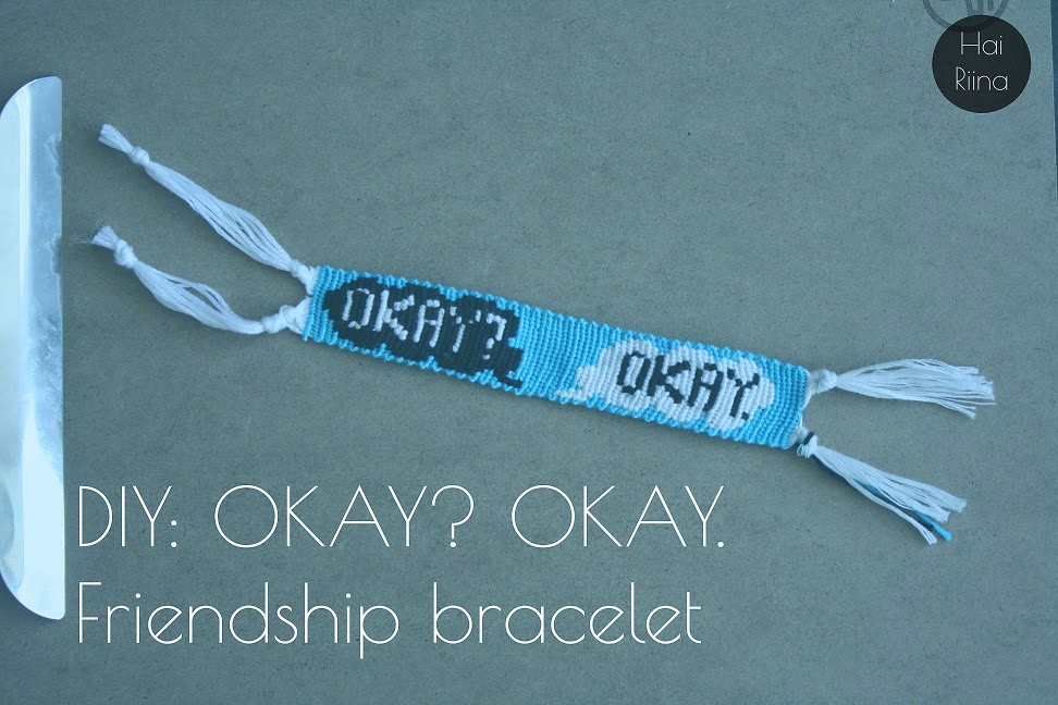 diy, bracelet, the fault in our stars