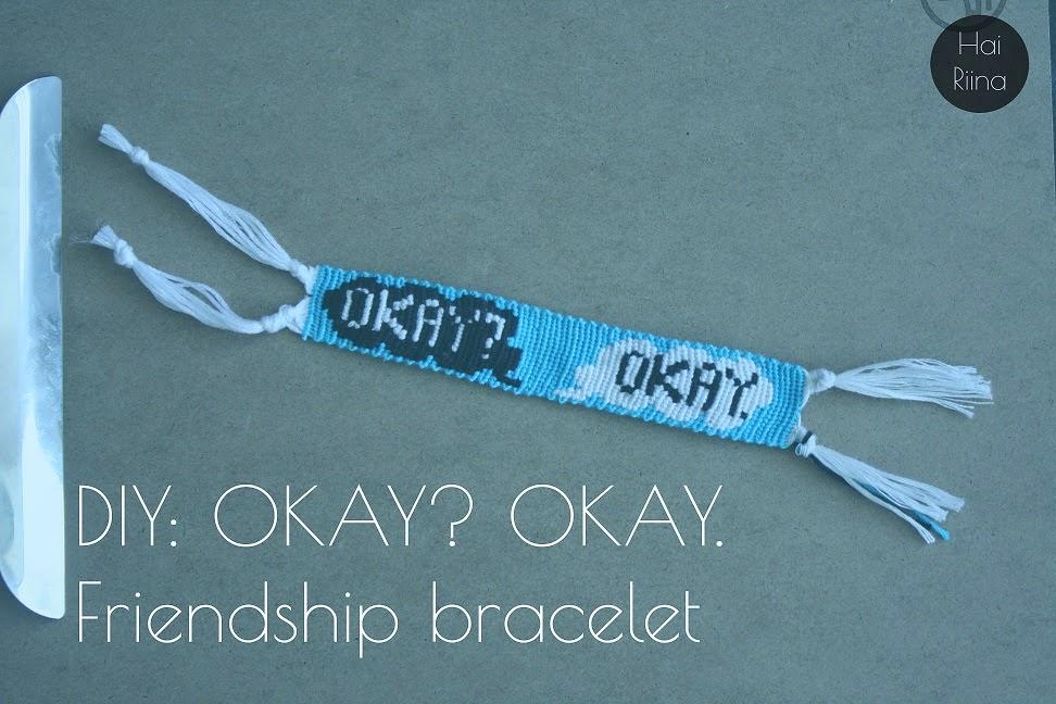 diy, bracelet, the fault in our stars