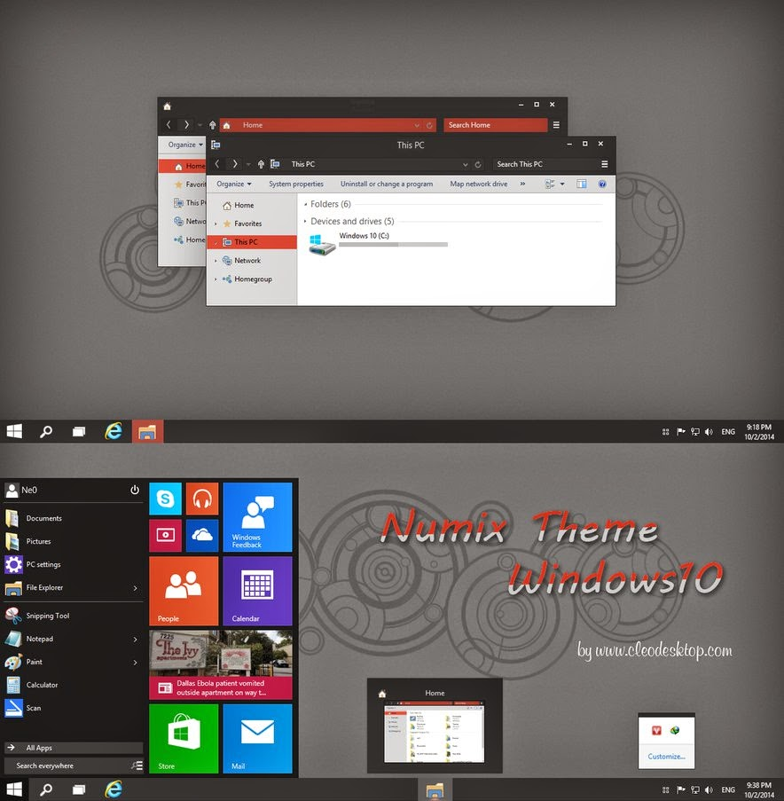 Tema Windows 10 Terbaru