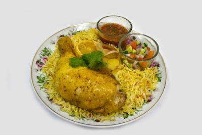 Panduan Memasak Nasi Arab Ayam