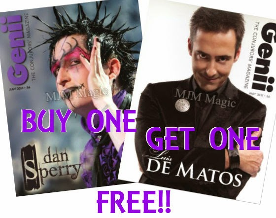 Genii Magazine - Buy One Get One Free