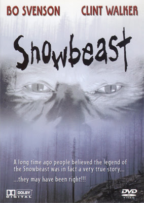 DVD cover for Snowbeast (1977)