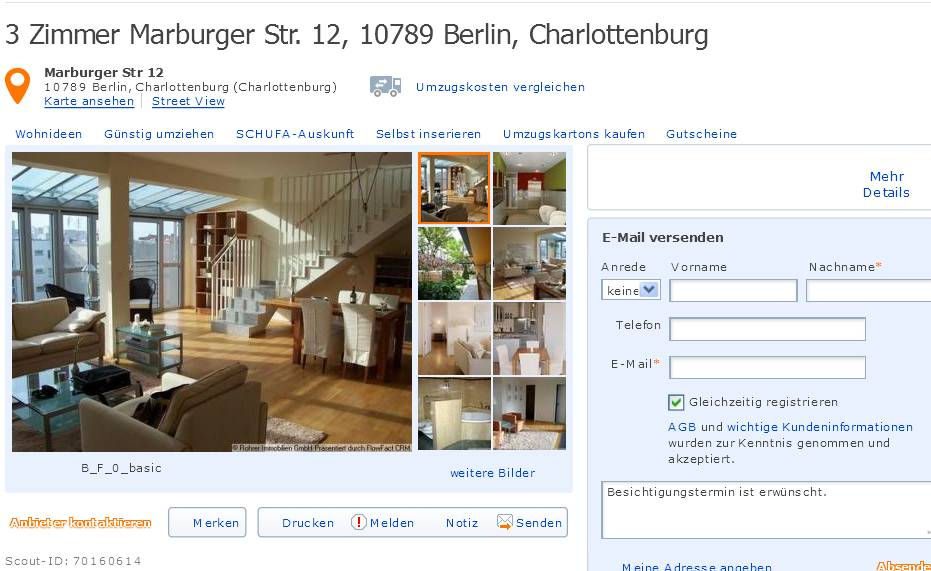 informationen ber wohnungsbetrug informations about rental scam seite 213. Black Bedroom Furniture Sets. Home Design Ideas