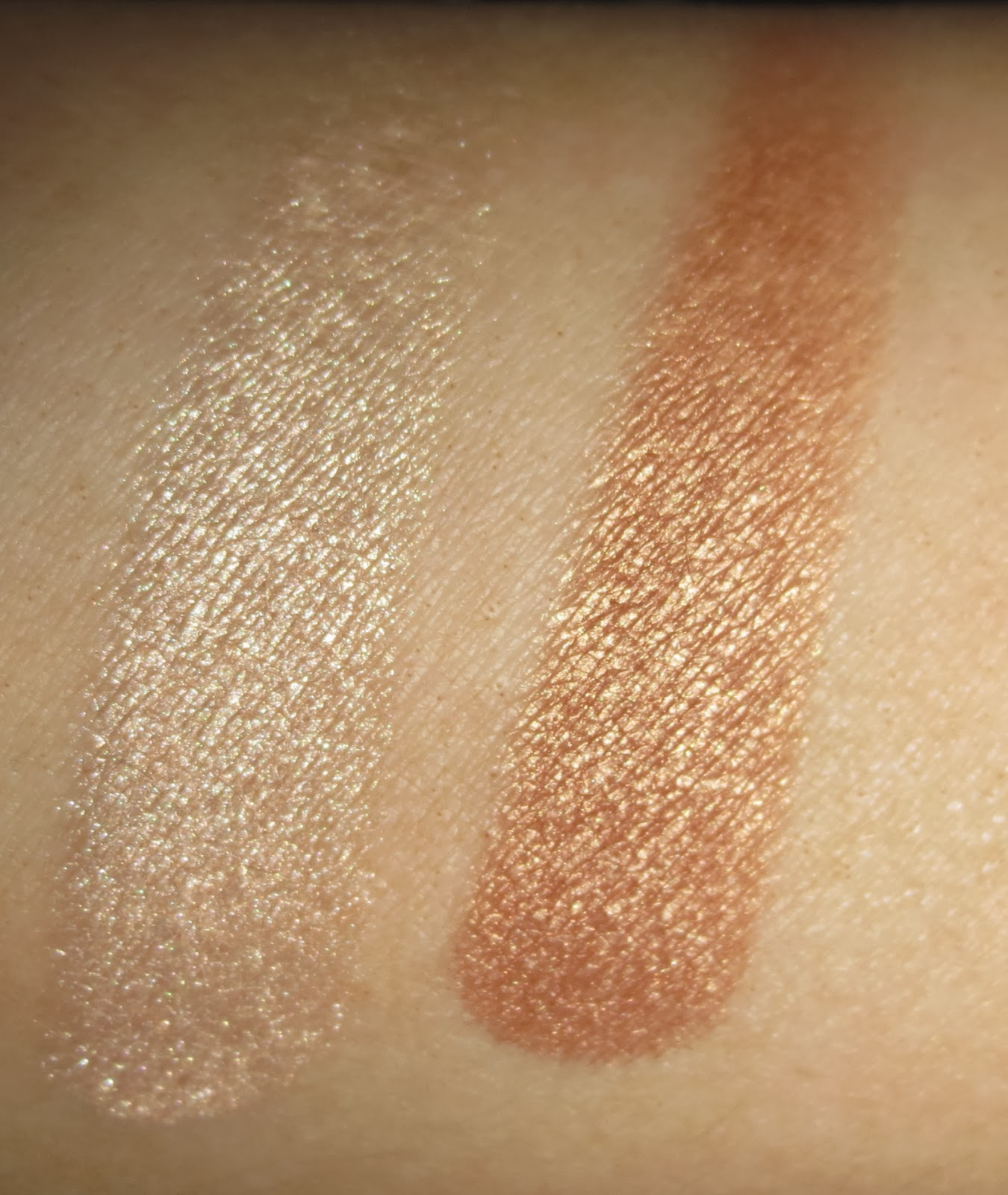 The Balm Mary-Lou Manizer & Betty-Lou Manizer swatches