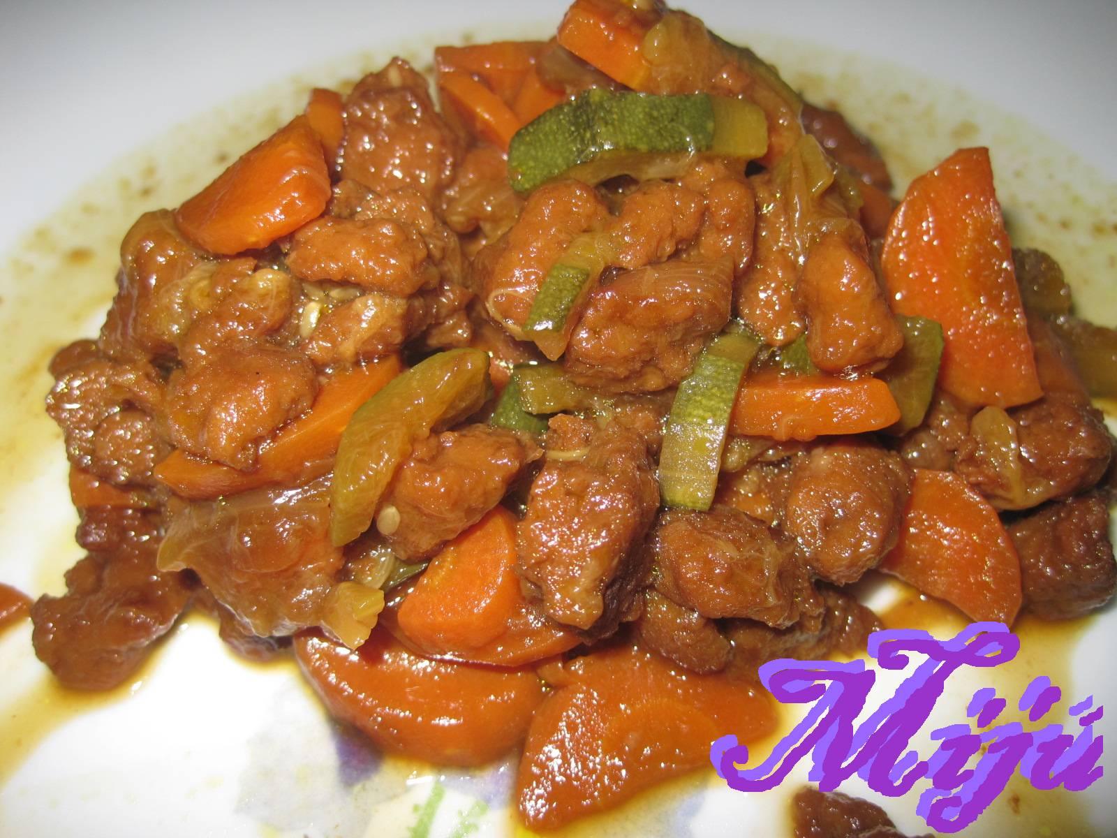 El bocado de la huerta guiso de carne vegetal for Cocinar seitan