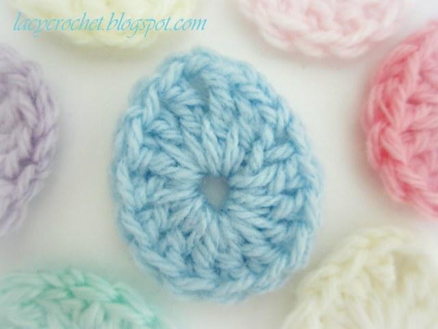 Lacy Crochet Easter Egg Crochet Ornament
