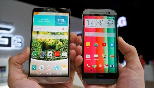 How LG's supercharged G3 stack up against Top Android phones?