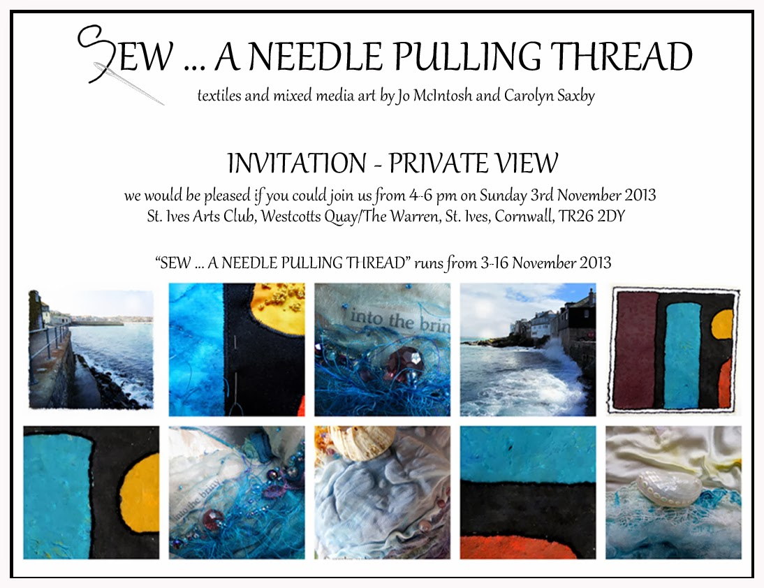 Textile Art Exhibition - St Ives Cornwall