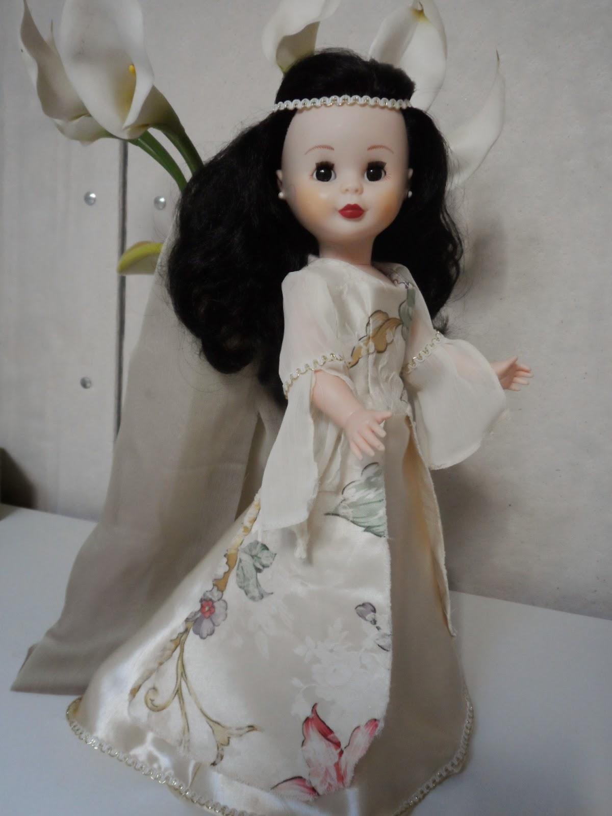 vestido medieval para nancy