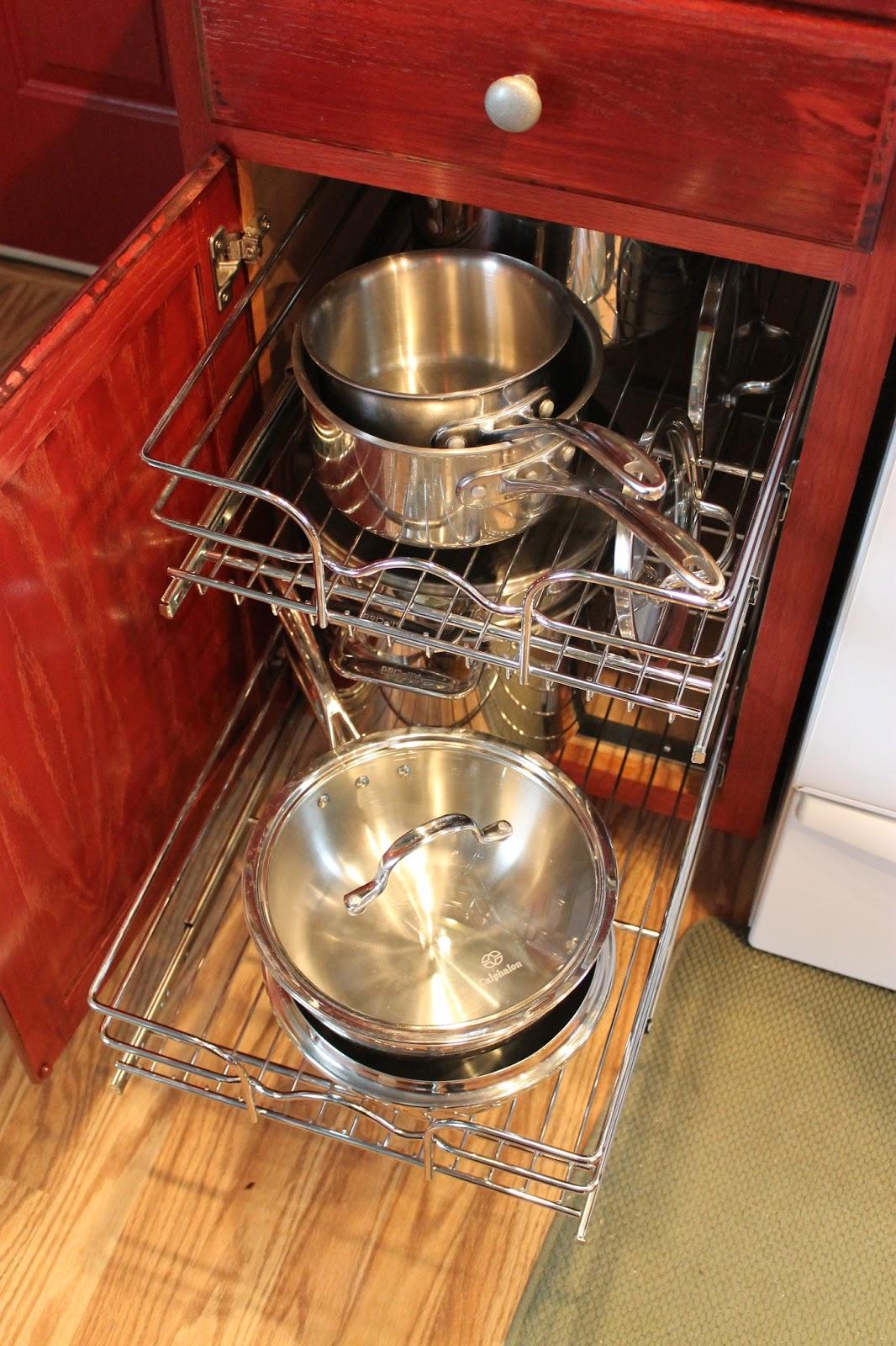 DIY Kitchen CabiOrganization