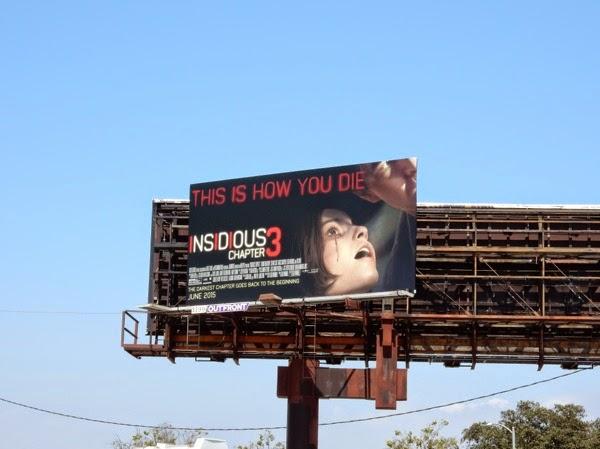 Insidious 3 billboard