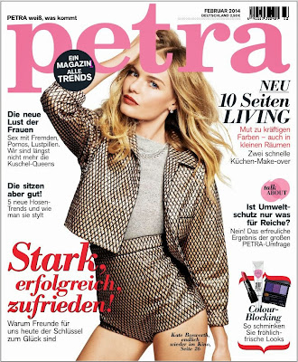 Kate Bosworth Photos from Petra Germany Magazine Cover February 2014 HQ Scans