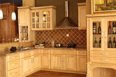 maple kitchen cabinets