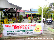 Promosi Buffe Ramadhan RM5/pac di Duyung, Melaka.