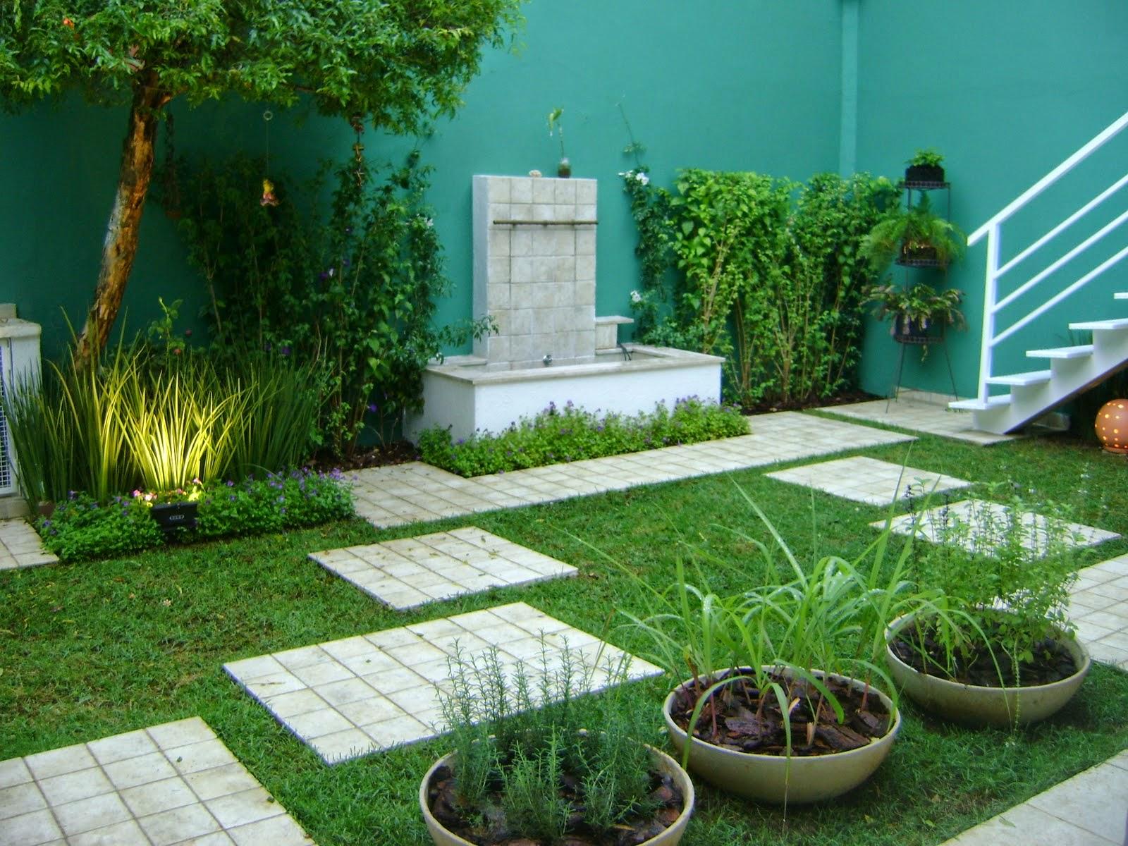fotos jardins pequenos residenciais:Jardins Residenciais – Fotos e modelos – Toda Atual