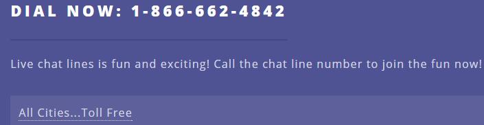 Phone sex hotline toll free