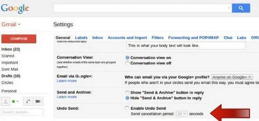 Cara Mudah Mengaktifkan Fitur Undo Send di Gmail
