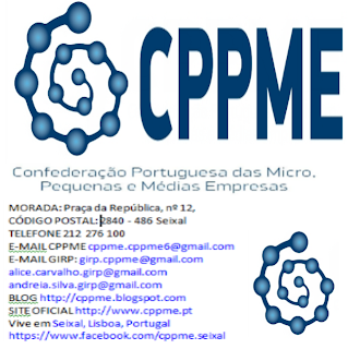 CPPME, Confederação, Portuguesa, Micro, Pequenas, Médias, Empresas, Litagem, Organizações, Associações, Empresariais, Portugal,