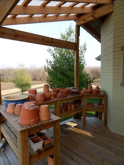 Garden Shed Cabin Door Stairs DIY Stain
