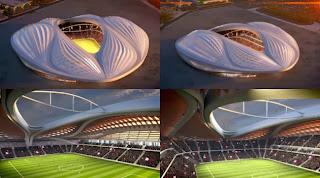 Stadion Berbentuk Seperti Vagina