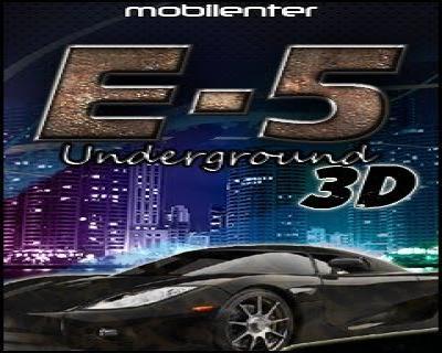 E-5 underground 3d (landscape)