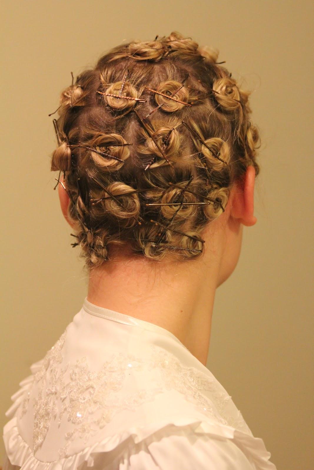 Pin Curls Black Hair Hair setting and pincurls