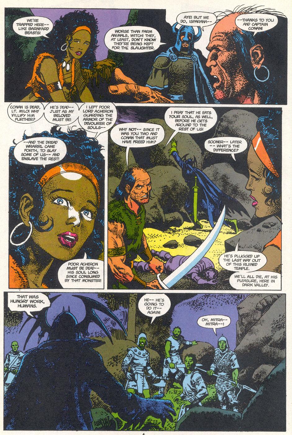 Conan the Barbarian (1970) Issue #272 #284 - English 5