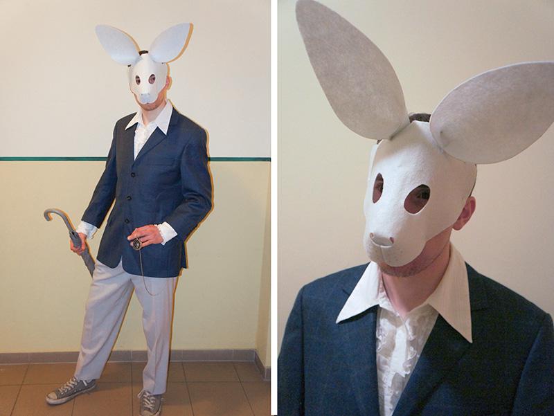 Wunderland: Weißes Kaninchen inkl. Schnittmuster | von mri