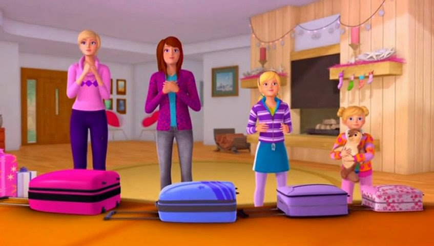 Cartoons Videos: Barbie A Perfect Christmas full video clips