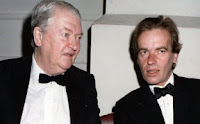 Kingsley and Martin Amis in 1992