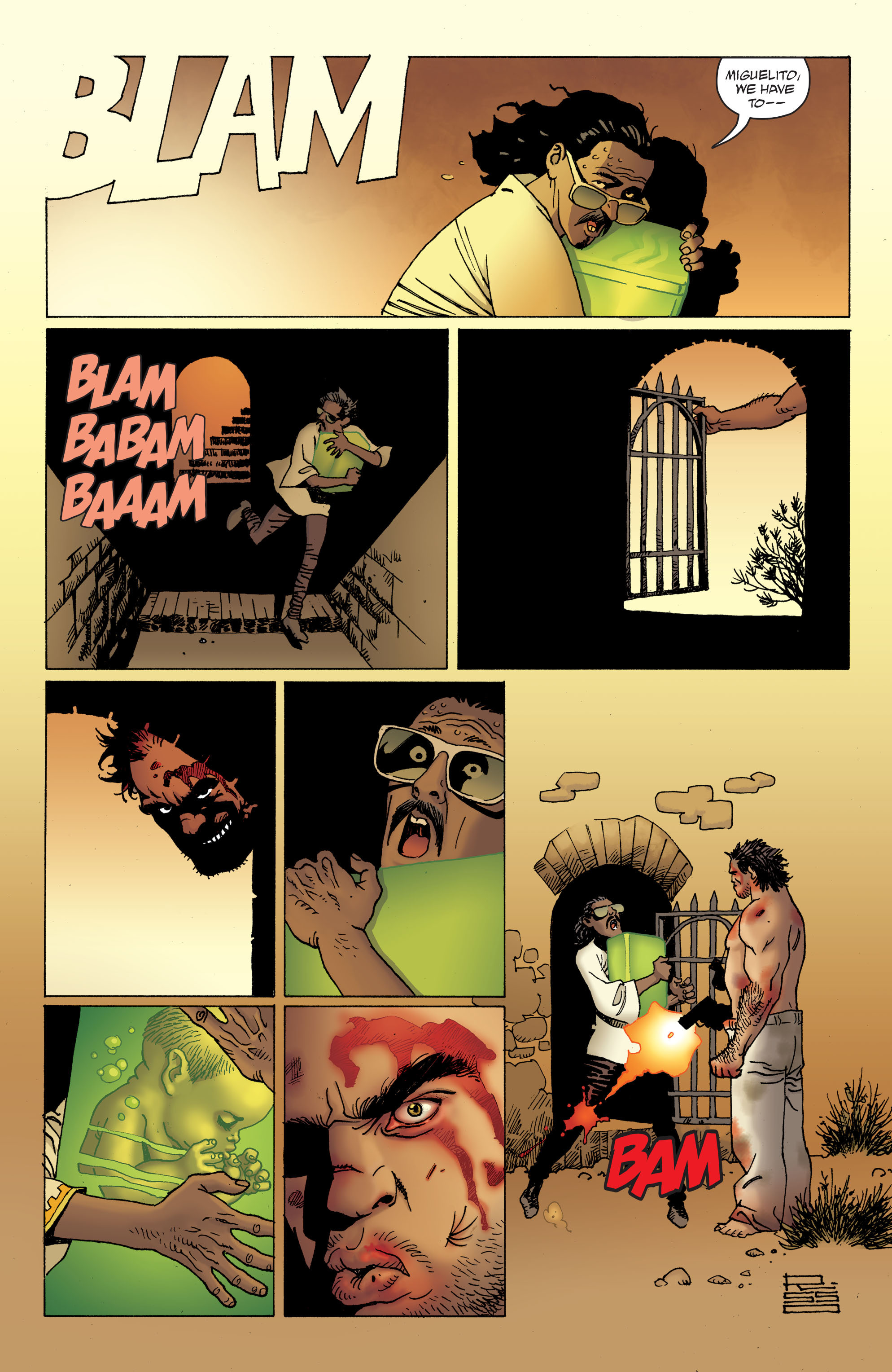 100 Bullets: Brother Lono Full Page 183