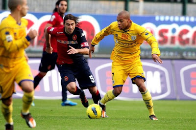 Cagliari Parma 0-0 highlights
