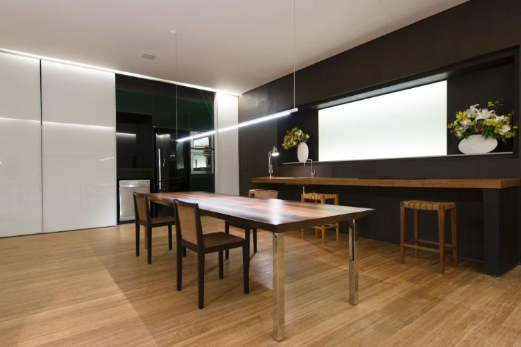 Copa cozinha e sala de jantar id ias interessantes para o design do quarto - Armarios para sala de estar ...