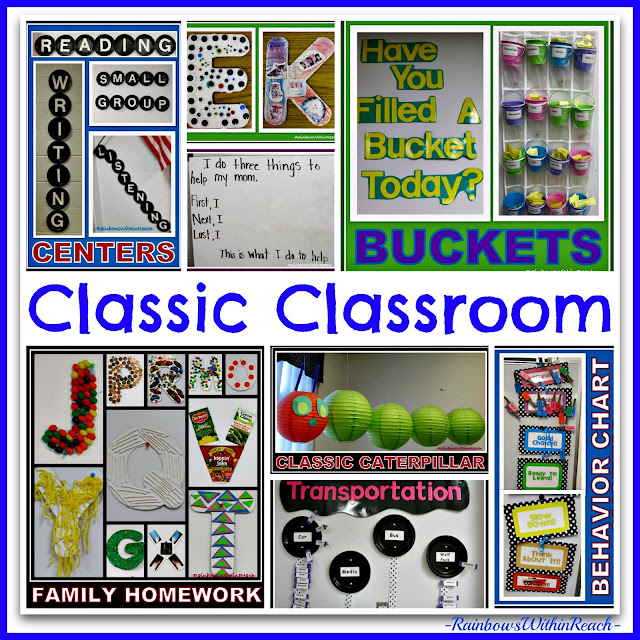 photo of: Classic Creative Classroom via RainbowsWithinReach