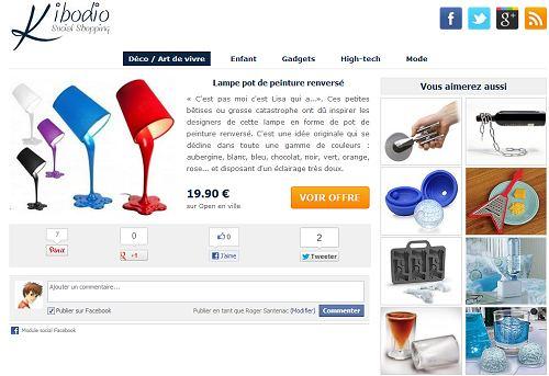 Espace social et shopping Kibodio.com
