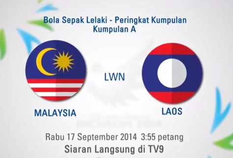 Malaysia B23 (Harimau Muda) vs Laos