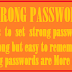 How to set a strong password-Important tips on password setting