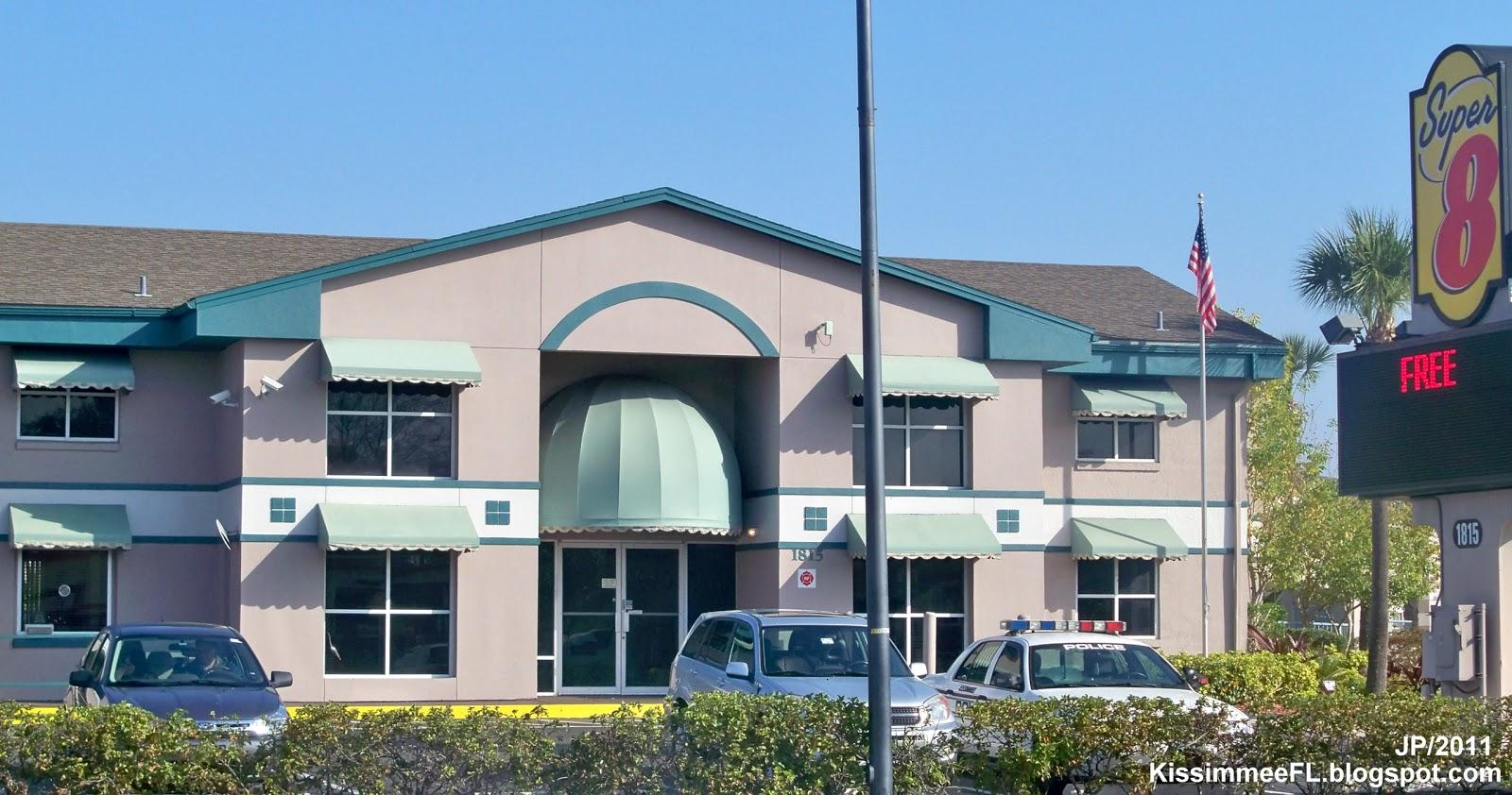 Super 8 Hotel Kissimmee Florida Motel Lodging Fl Osceola County West Vine Street
