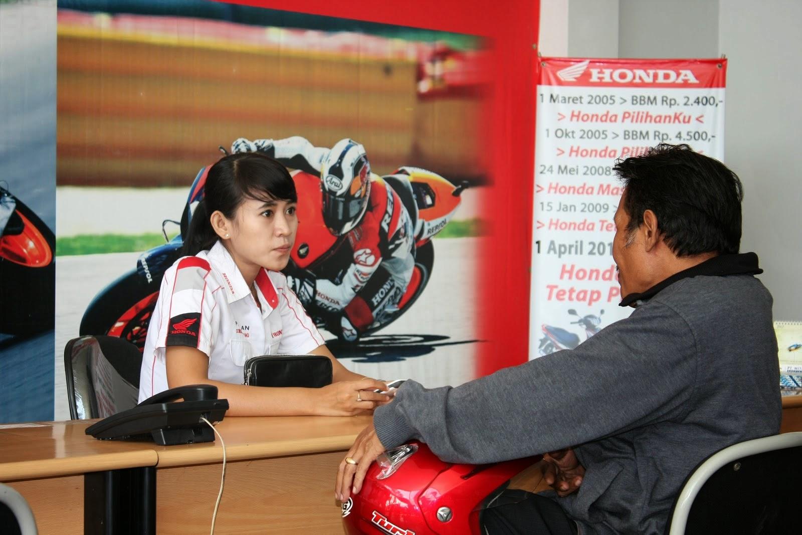 Lowongan Kerja Staff Administrasi Service Honda Mobil